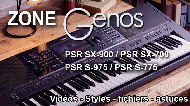 Zone Yamaha GENOS et PSR