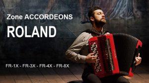 Zone Accordéons Roland